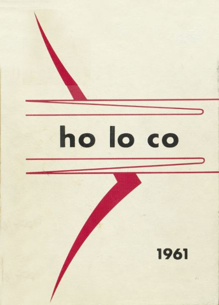 1961 Estherville High School Yearbook Cover