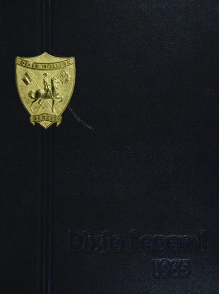1965 Dixie Hollins High School Yearbook Cover