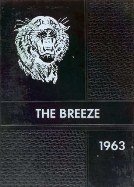1963 Black River Falls High School Yearbook Cover
