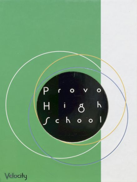 2005 Provo High School Yearbook Cover