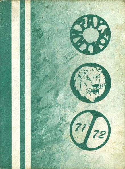 1972 Payson High School Yearbook Cover