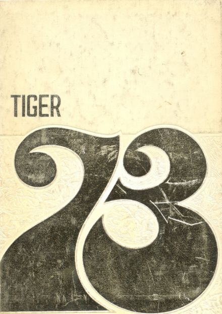 1973 Centreville High School Yearbook Cover