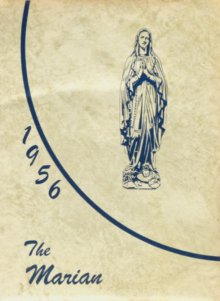 1956 St. Mary's-Colgan High School Yearbook Cover