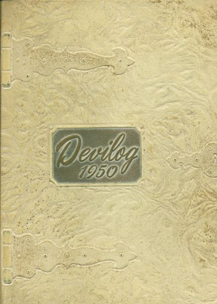 1950 Ogdensburg Free Academy Yearbook Cover