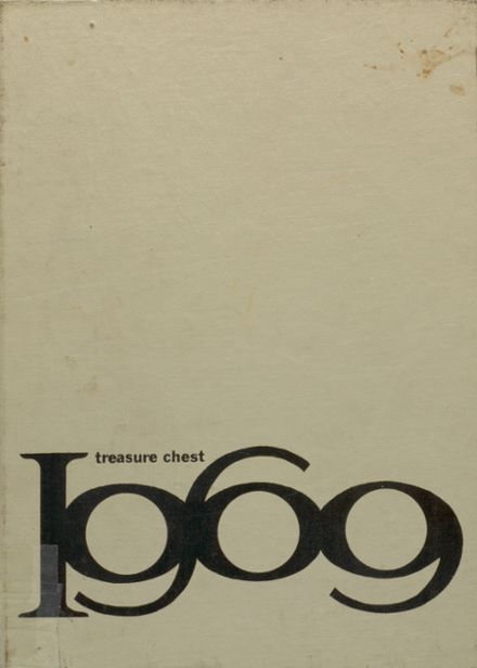 1969 Mepham High School Yearbook Cover