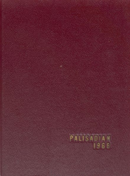 1966 Palisades High School Yearbook Cover