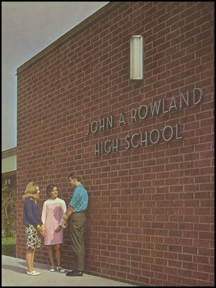 1968 John A. Rowland High School Yearbook Page 3
