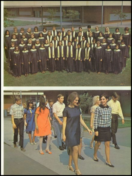 1968 John A. Rowland High School Yearbook Page 9