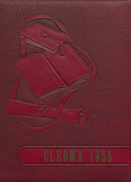 1955 Cleveland High School Yearbook Cover