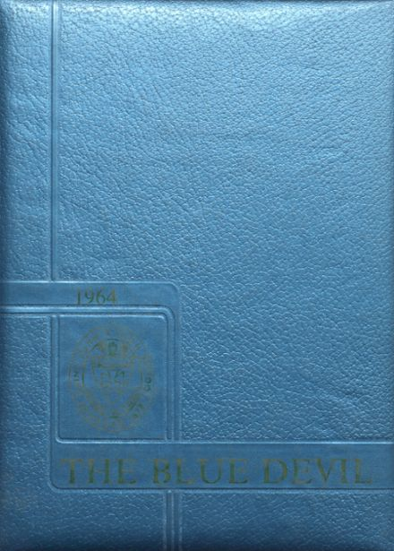 1964 St. John's High School Yearbook Cover