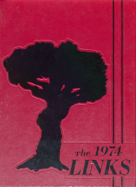 1974 Lincoln High School Yearbook Cover