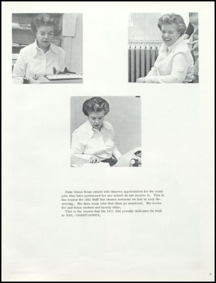 1971 Laughbon High School Yearbook Page 9