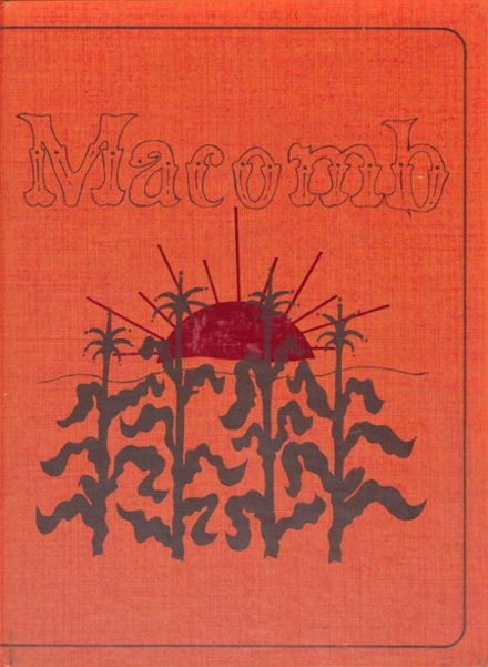 1978 Macomb High School Yearbook Cover