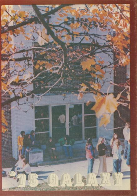 1975 East Clinton High School Yearbook Cover