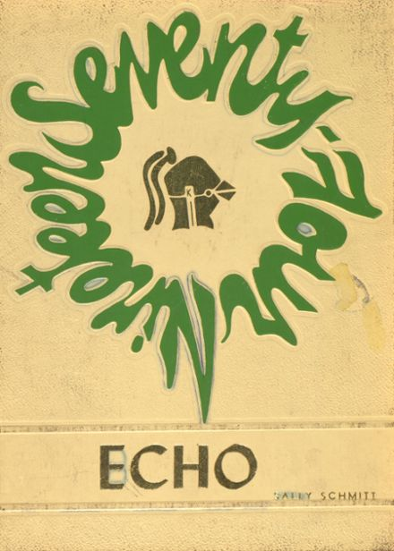 1974 Pocono Central Catholic High School Yearbook Cover
