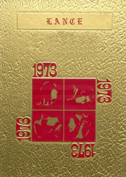 1973 Fairview High School Yearbook Cover