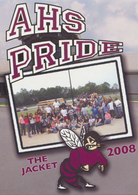 2008 Abbeville High School Yearbook Cover