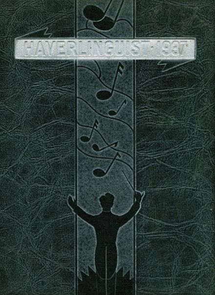 1937 Haverling High School Yearbook Cover