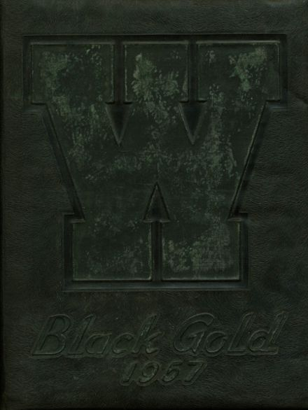 1957 Walker High School Yearbook Cover