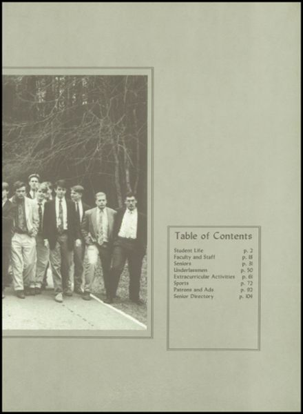 1993 Christ School Yearbook Page 3
