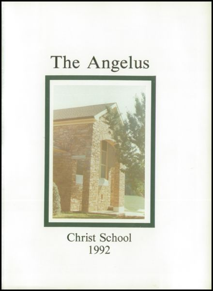 1993 Christ School Yearbook Page 5