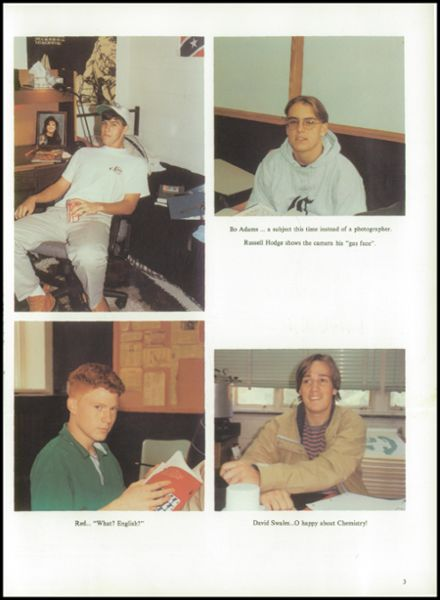 1993 Christ School Yearbook Page 7