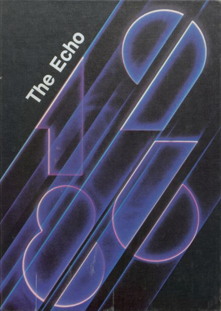 1986 Bland High School Yearbook Cover