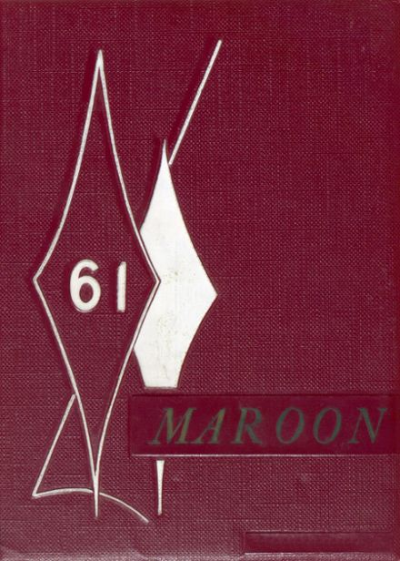 1961 Princeville High School Yearbook Cover