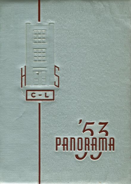 1953 Clarion-Limestone High School Yearbook Cover