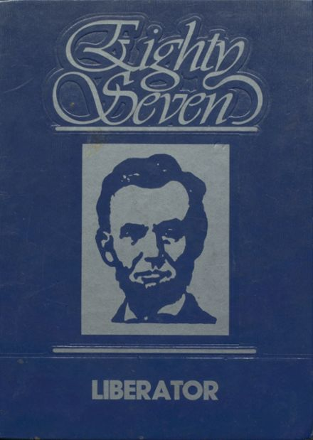 1987 Lincoln High School Yearbook Cover