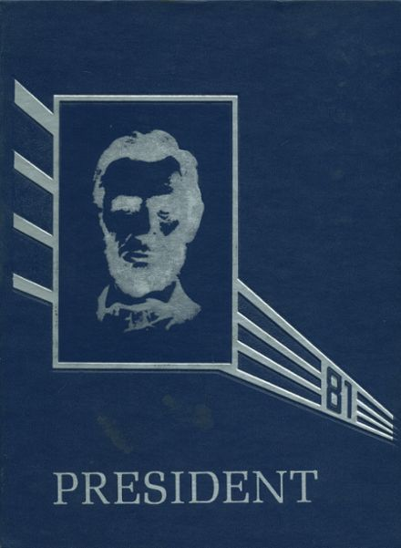 1981 Lincoln High School Yearbook Cover