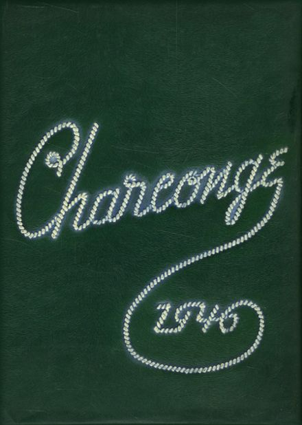 1946 Chartiers-Houston Junior-Senior High School Yearbook Cover