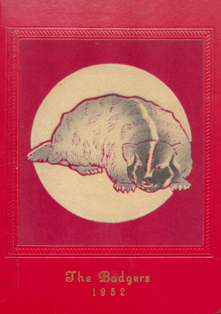 1952 Valentine High School Yearbook Cover