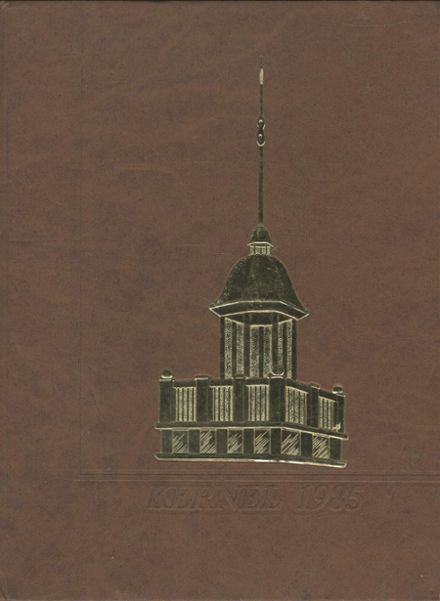 1985 Oxford Area High School Yearbook Cover