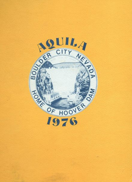 1976 Boulder City High School Yearbook Cover