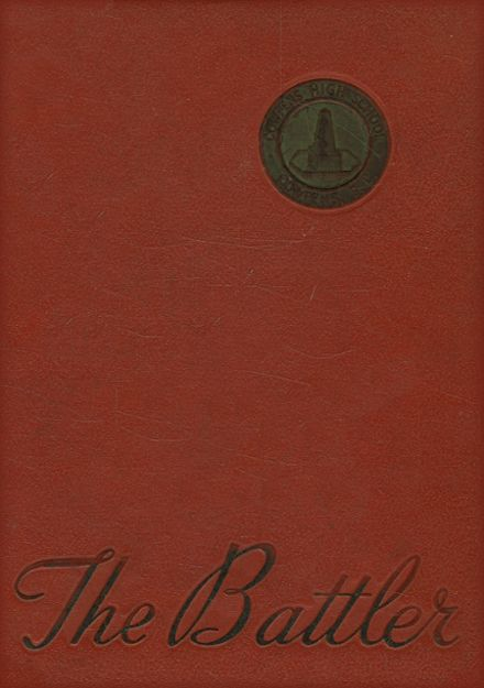 1964 Cowpens High School Yearbook Cover