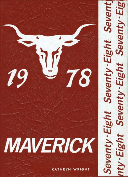 1978 Marshall High School Yearbook Cover