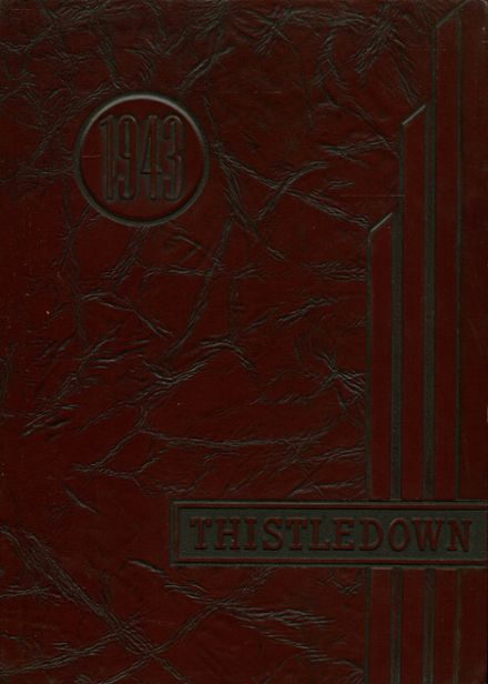 1943 Winchester Thurston High School Yearbook Cover