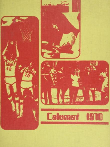 1970 Clairemont High School Yearbook Cover