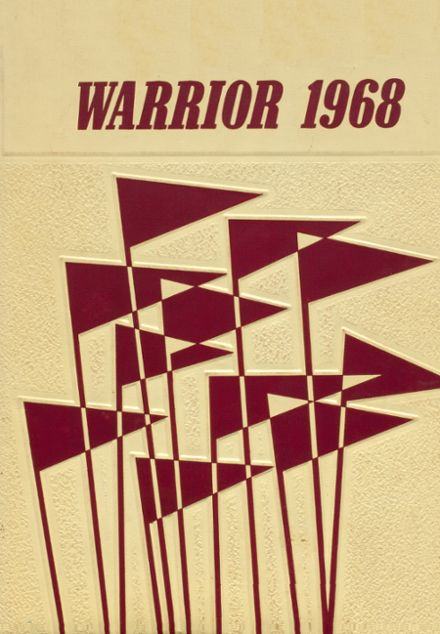 1968 Oaks-Mission High School Yearbook Cover