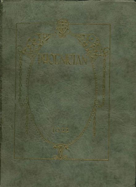 1922 Phoenix Union High School Yearbook Cover