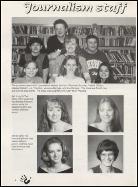 1997 Quanah High School Yearbook Page 8