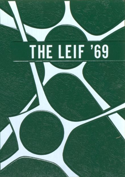 1969 Delwood High School Yearbook Cover