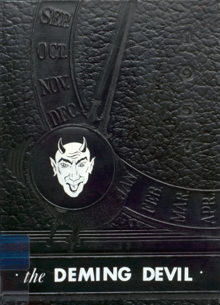 1957 Deming High School Yearbook Cover
