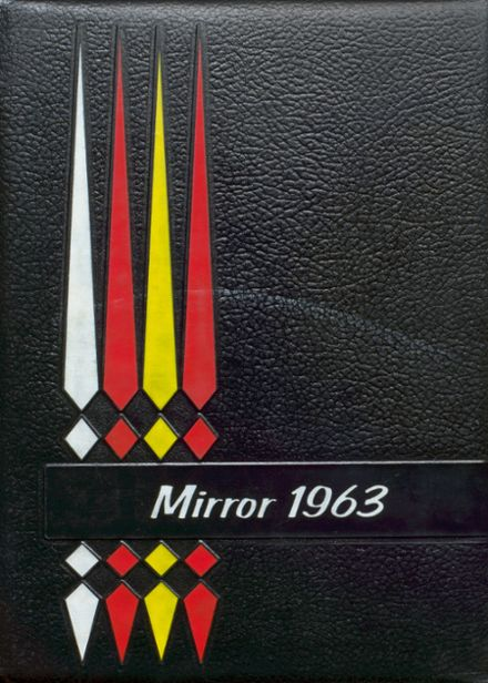 1963 Melvin-Sibley High School Yearbook Cover