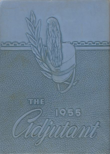 1955 Castle Heights Military Academy Yearbook Cover
