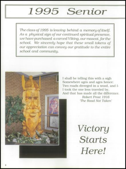 1995 East Lyme High School Yearbook Page 6