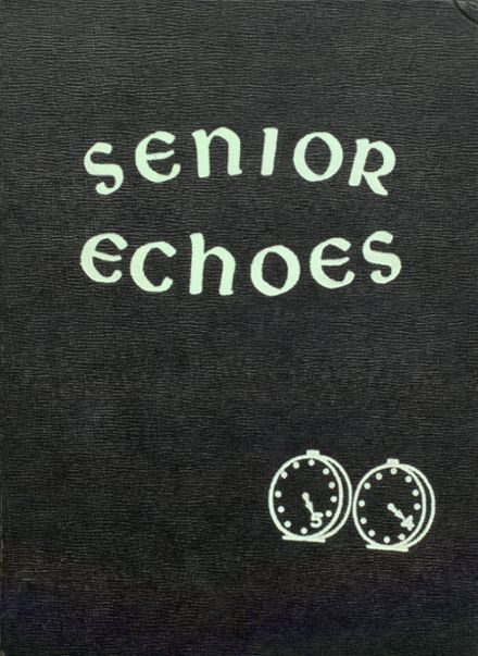 1954 Tecumseh High School Yearbook Page 1