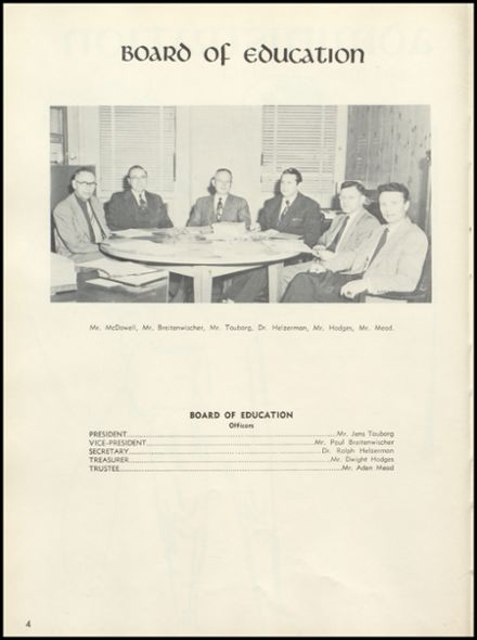 1954 Tecumseh High School Yearbook Page 8
