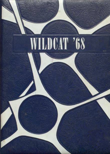 1968 Vona High School Yearbook Cover